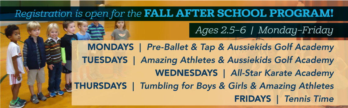 Fall Sports & Rec. Ministries For Preschoolers